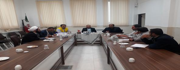 جلسه شورای اسلامی شهر با شورای کشاورزی شهر شریفیه