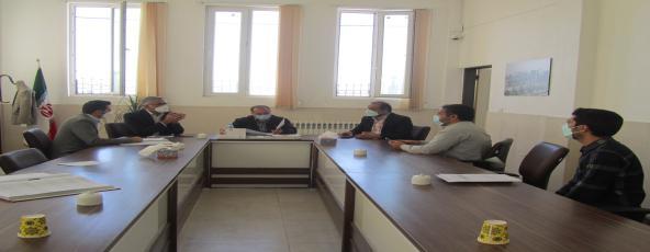 جلسه هیات رئیسه شورای اسلامی شهر شریفیه